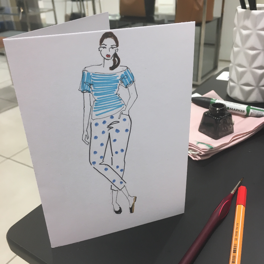 Curvy Fashion Illustration