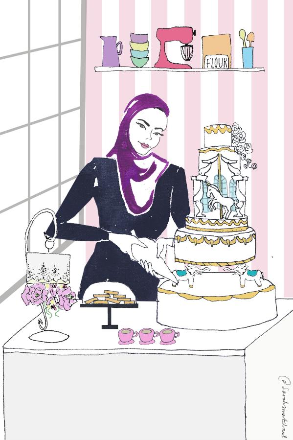 The Enchanted Cake Company Illustration