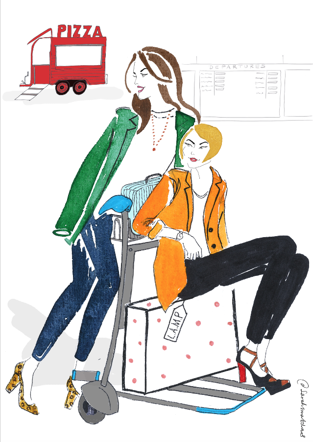 LAMP Productions Illustration