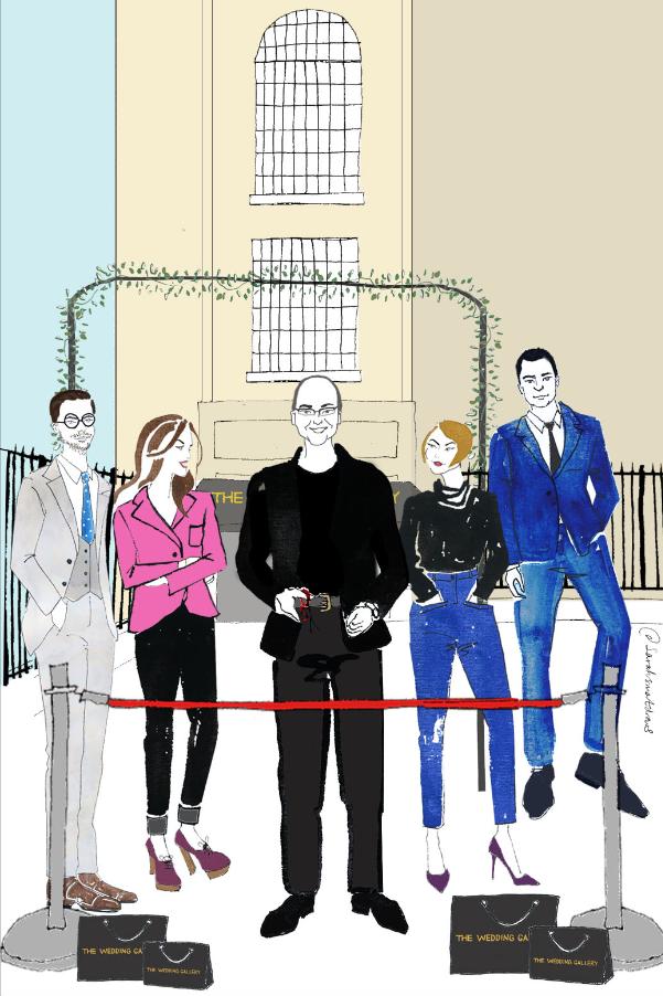 The Wedding Gallery Illustration