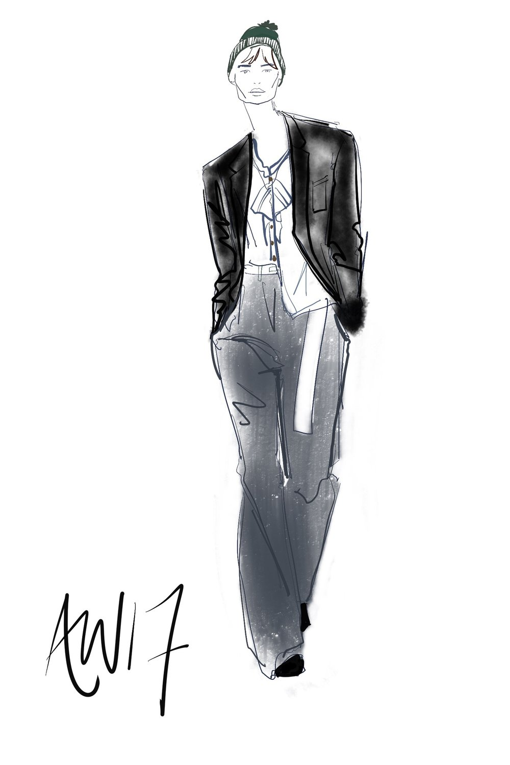 ipad catwalk fashion illustrator