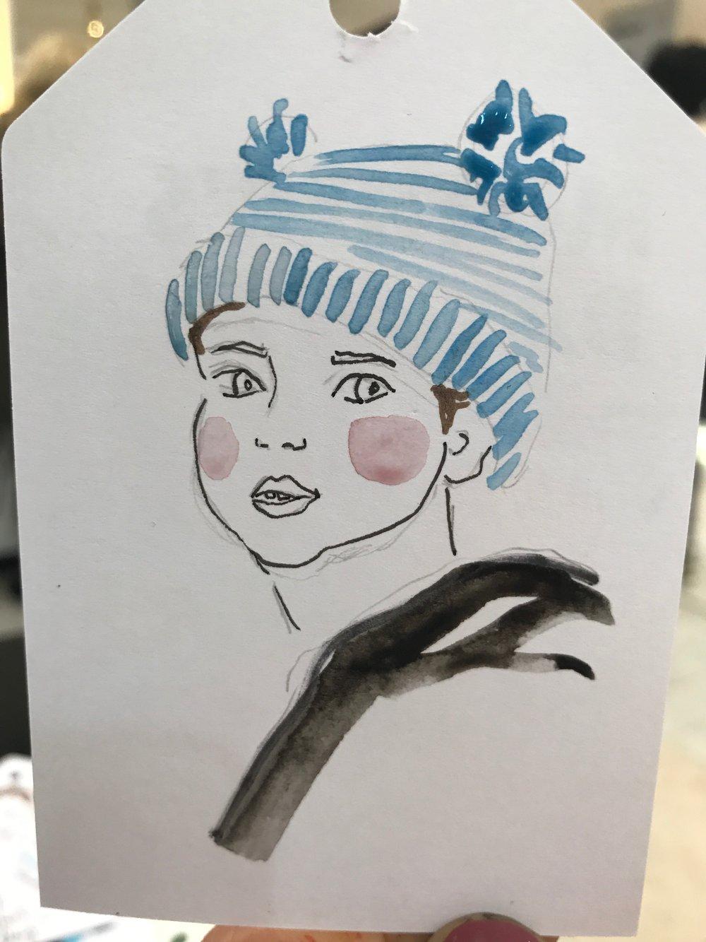 Live Children's Fashion Illustrations, Sarah Smart