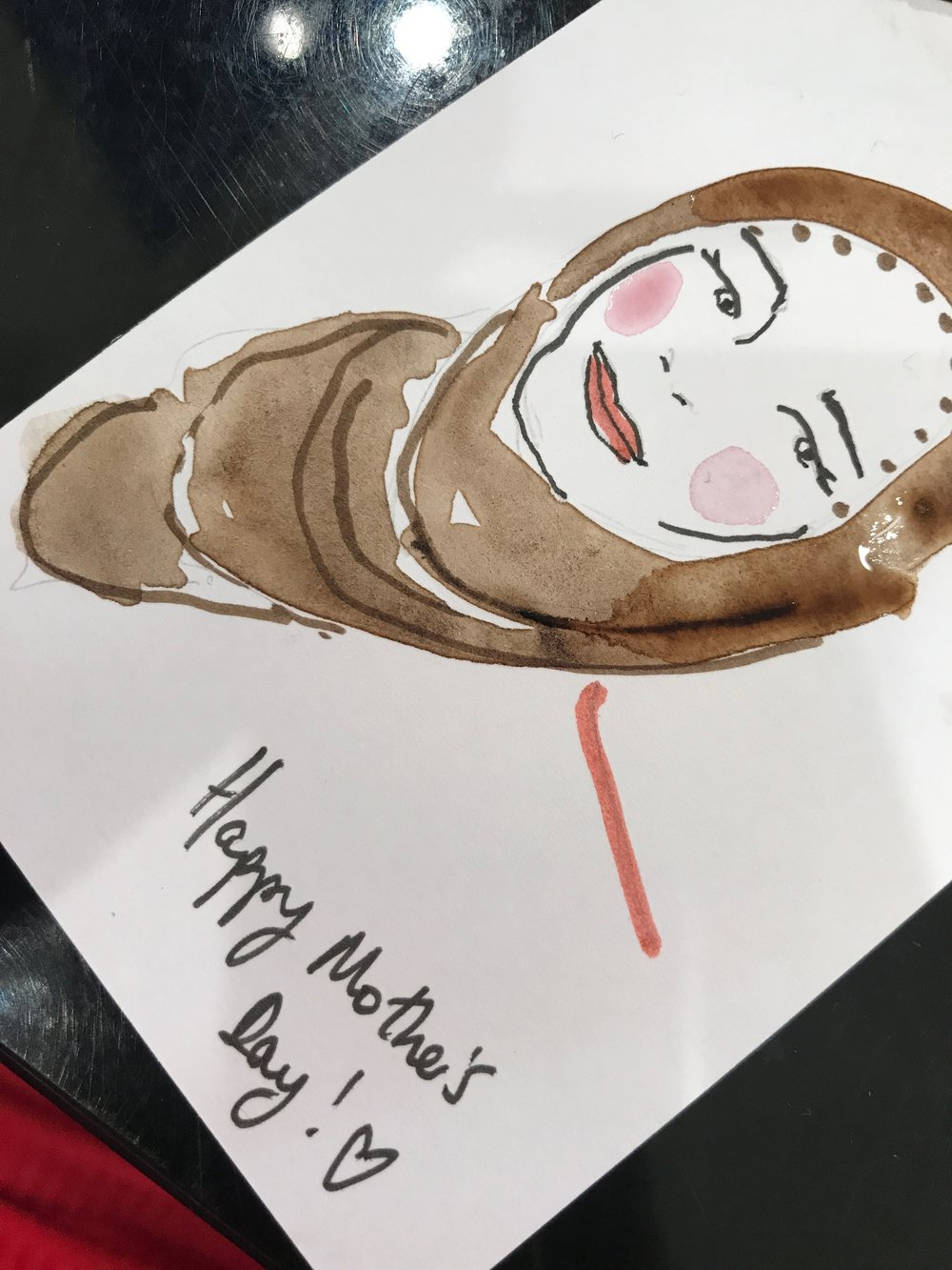Sarahsmartdraws live fashion illustration on gift tags selfridges negle Image collections