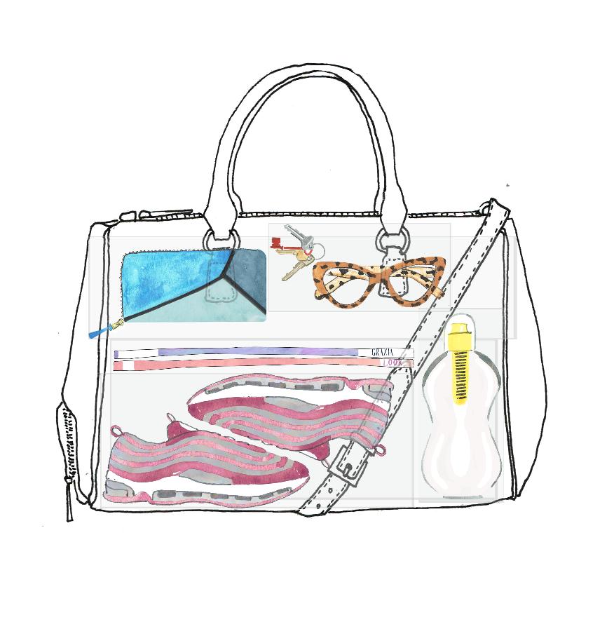 Fact + Fiction Sophia Bag Illustration