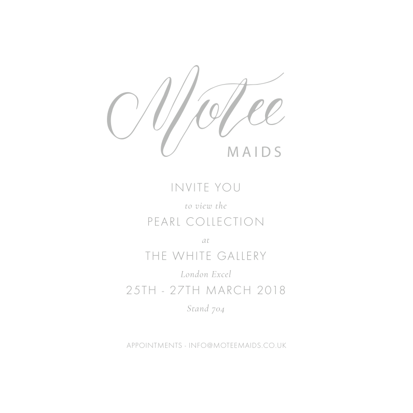 Motee Maids Invitation
