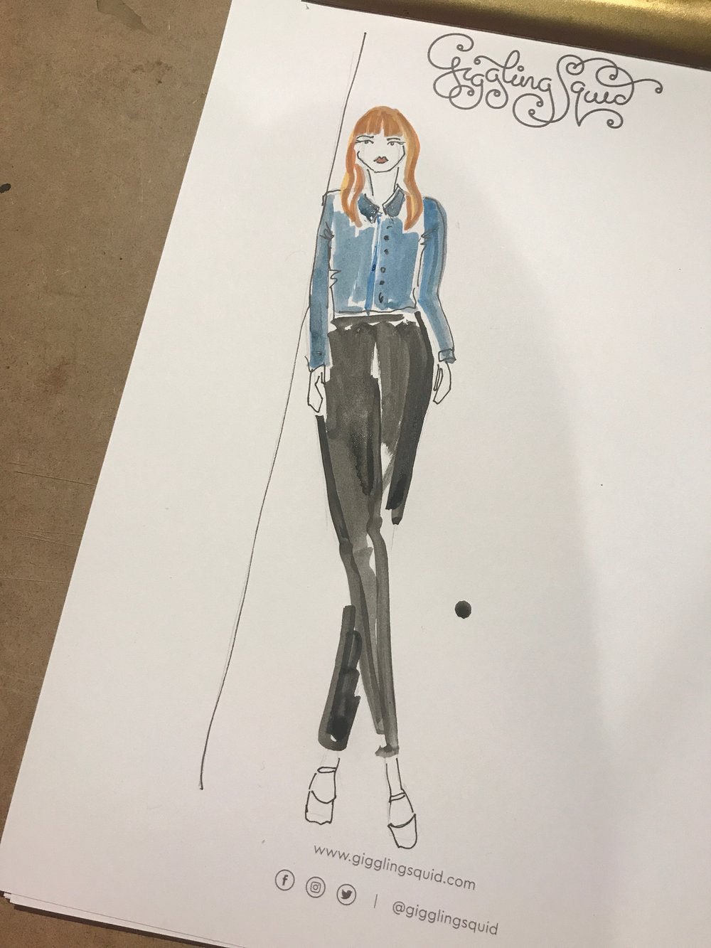 Live Event Fashion Illustrator