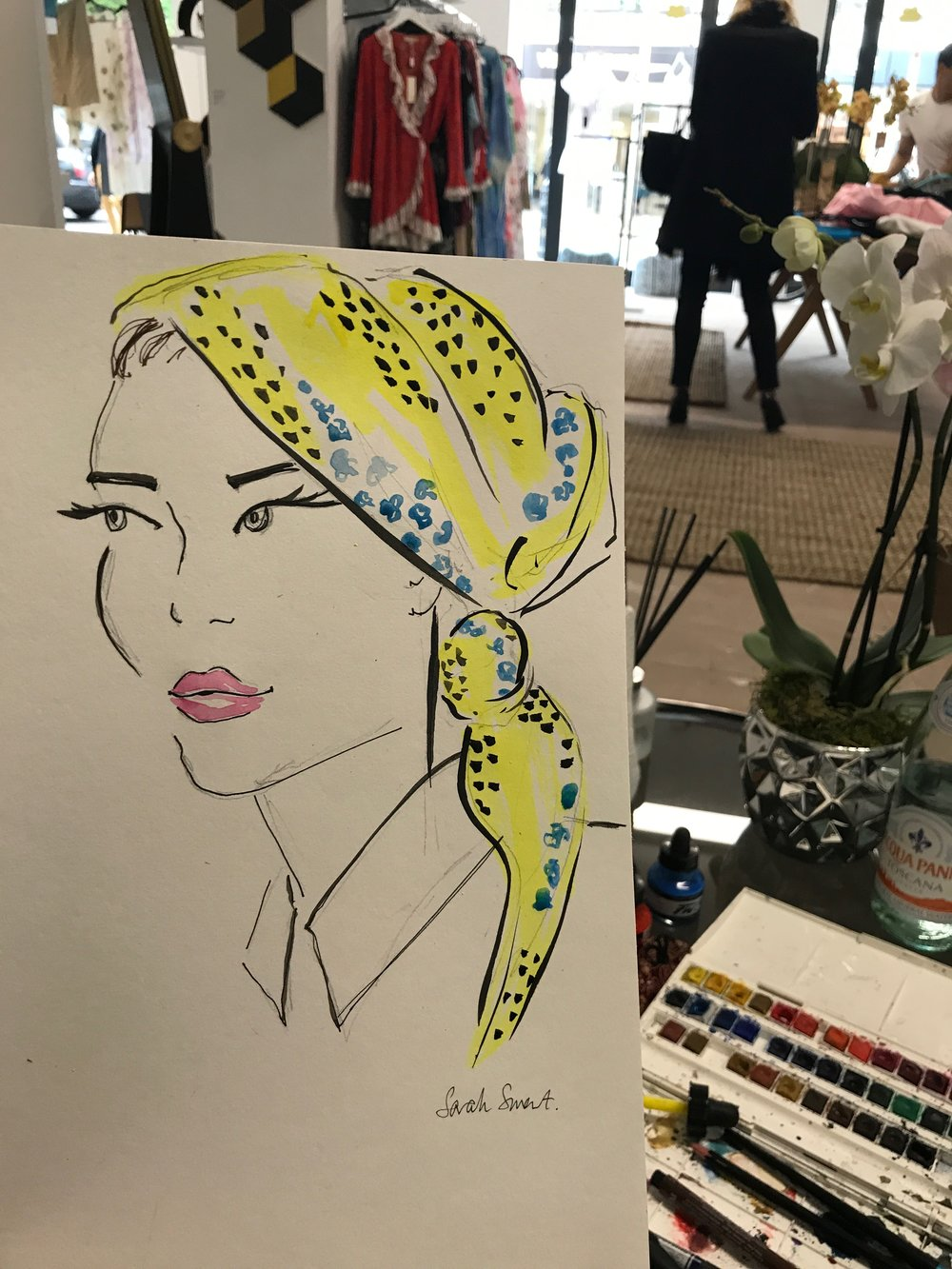 Aperse Live Fashion Illustration
