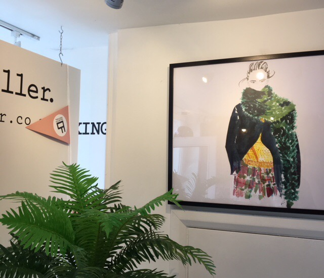Mac & Miller Fashion Illustration Exhibition