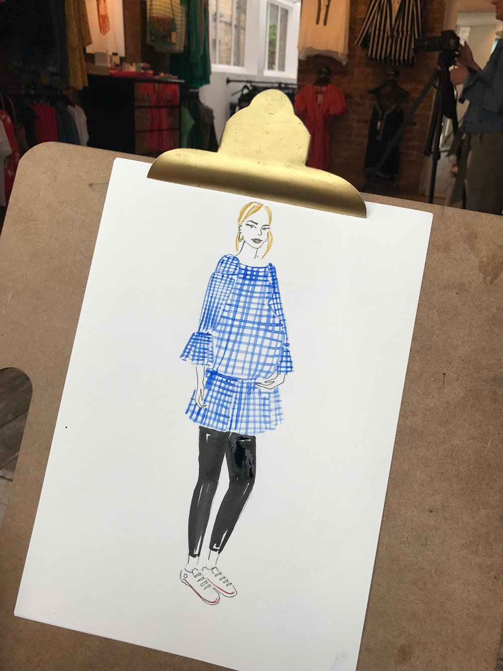 Live Fashion Illustrator