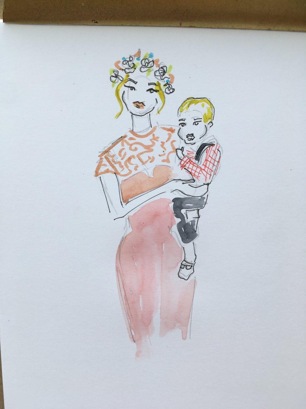 Wedding illustrator