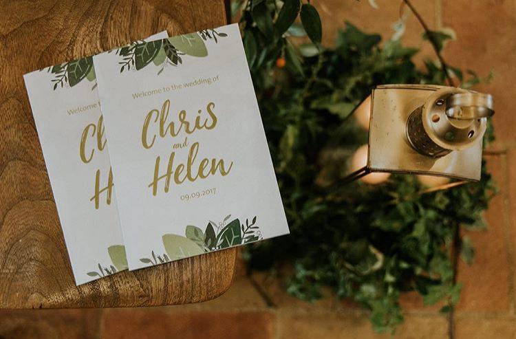 Illustrated Wedding Stationery