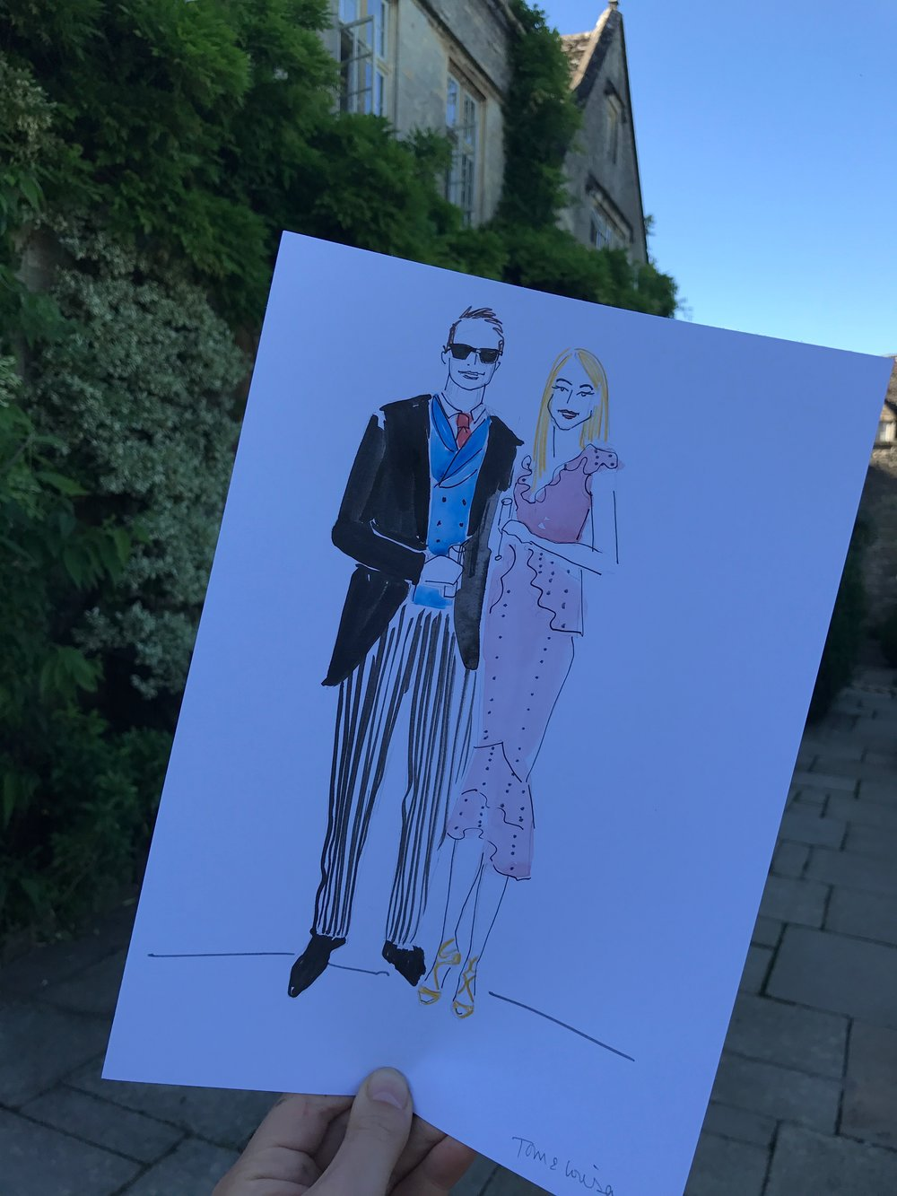 Couple Fashion Illustration