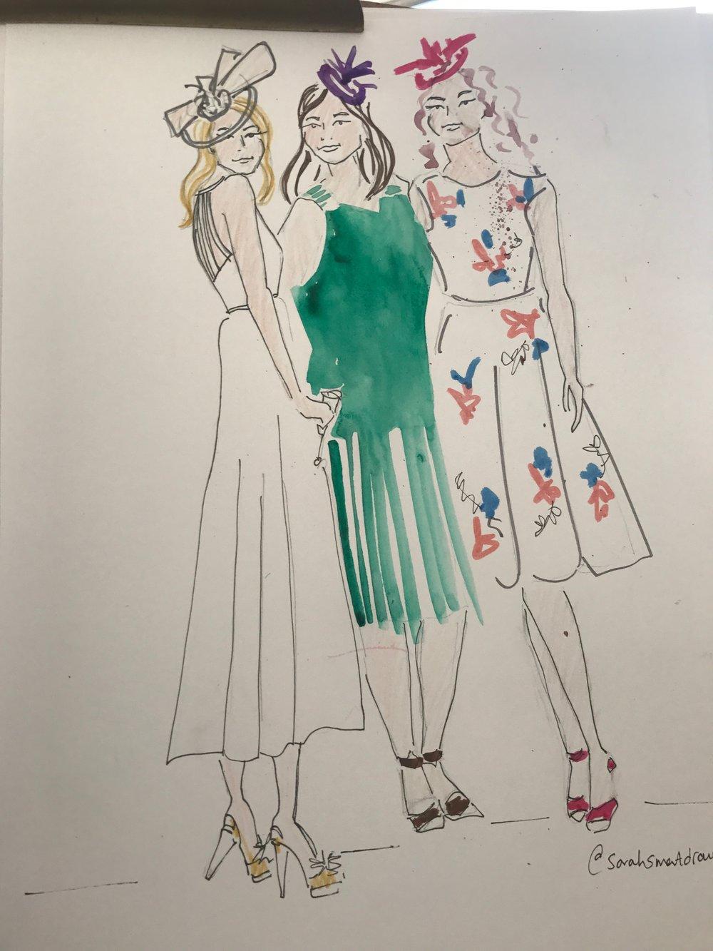 Fashion Event Illustration
