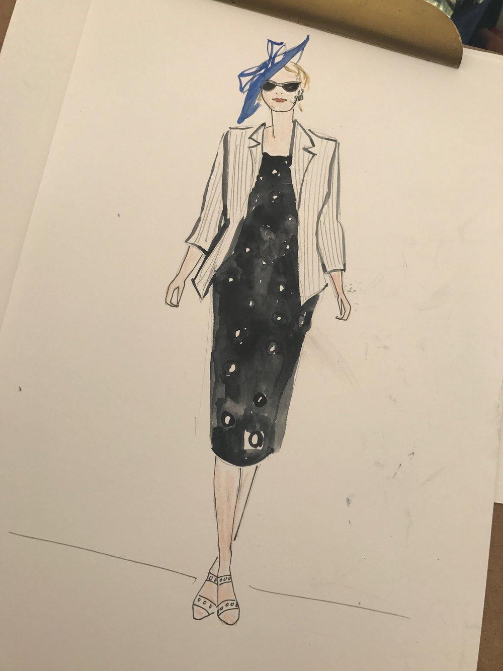 Ladies Day Event Illustration