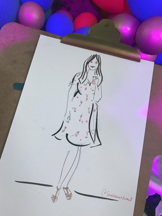 Live Event Illustration