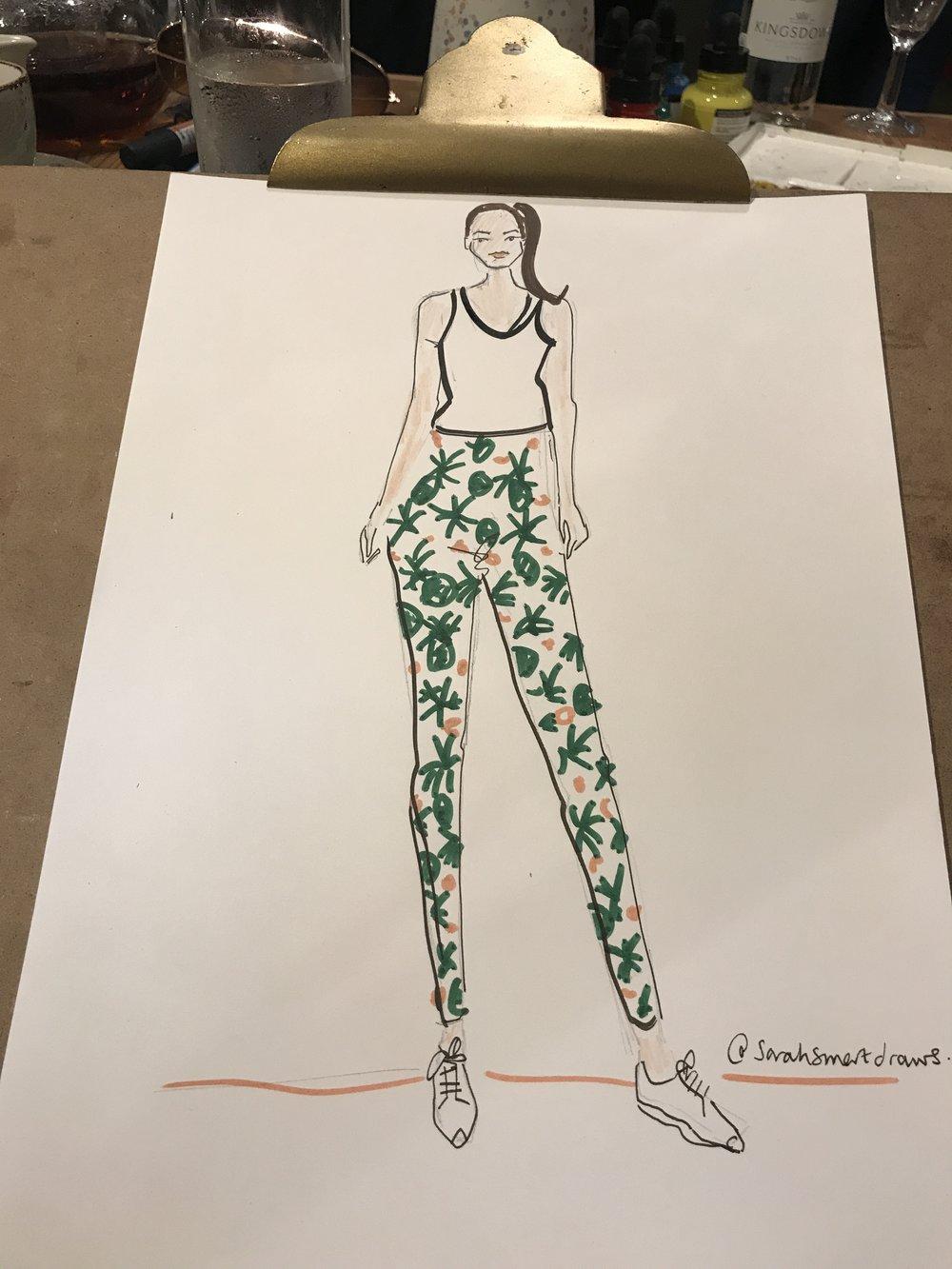 Live Fashion Illustration