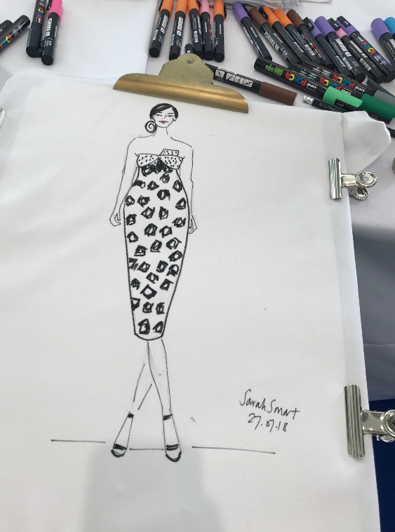 Live Fashion Illustration Christy Homes