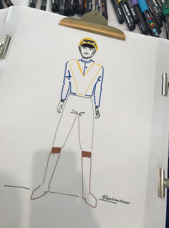 Jockey Illustration