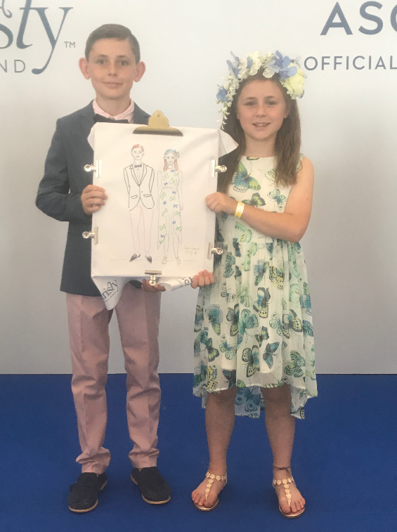 Live Event Illustration, Children's Fashion
