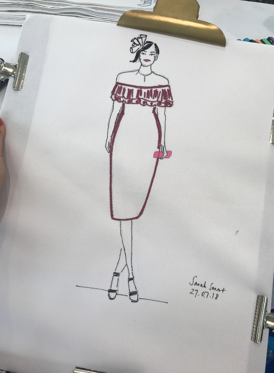 Live Fashion Illustrator, Ascot Races with Christy Homes
