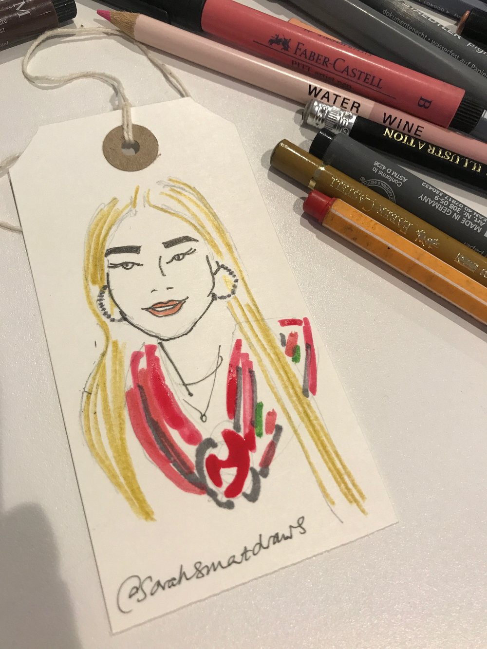 Event illustration at The Fashion Retail Academy