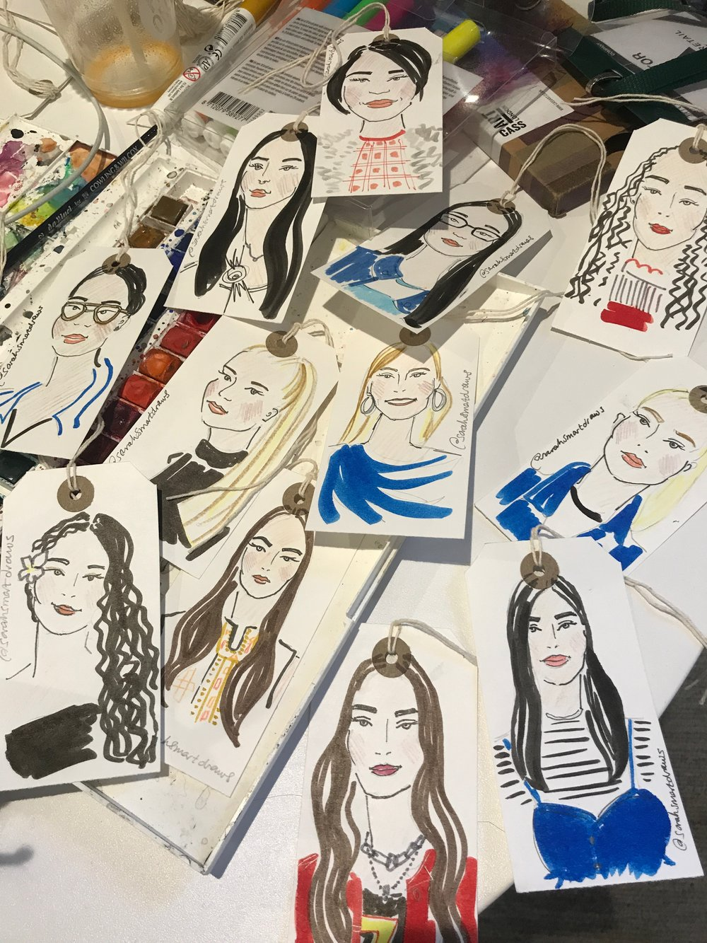 The Fashion Retail Academy Live Illustration