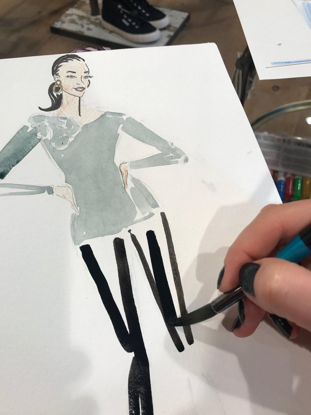 Fashion Illustration, Anthro Events