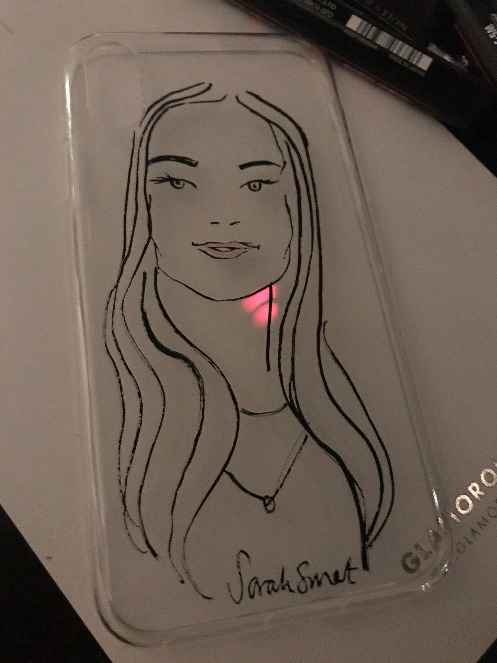Fashion Blogger Event Illustration
