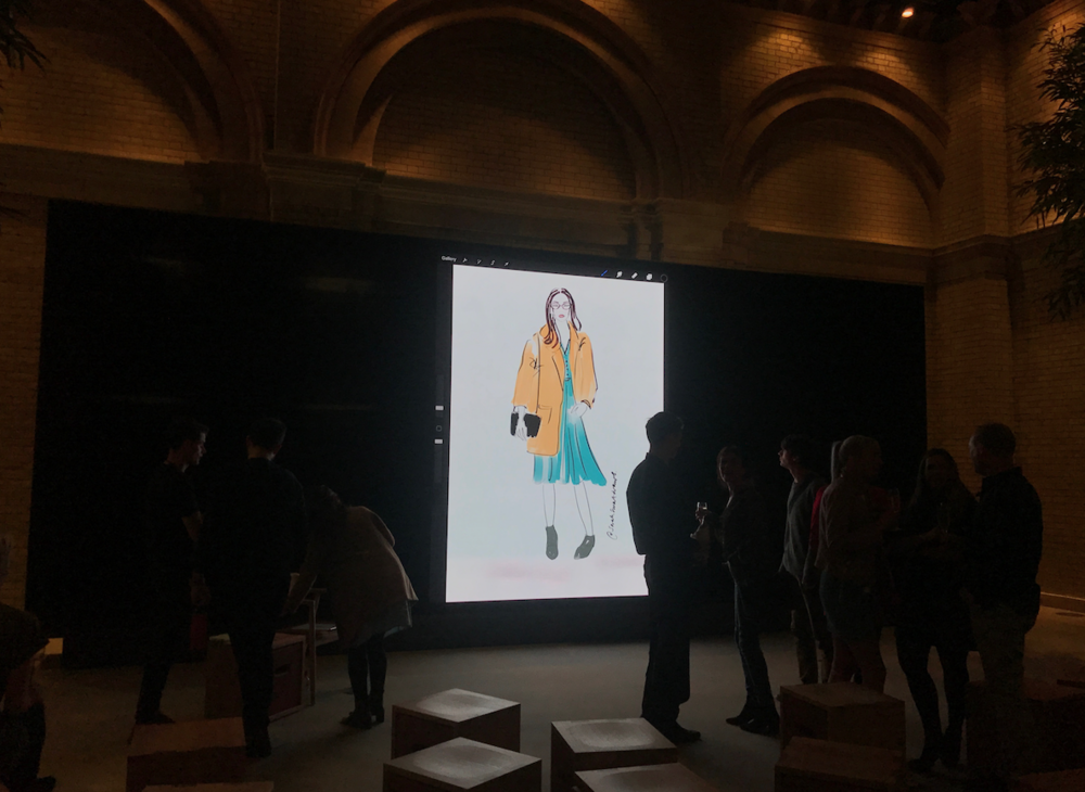 Today At Apple Fashion Illustrator