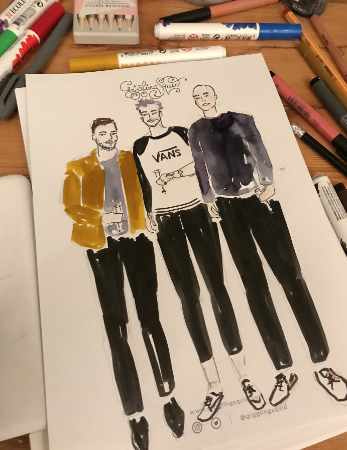 Mens Fashion Illustrator