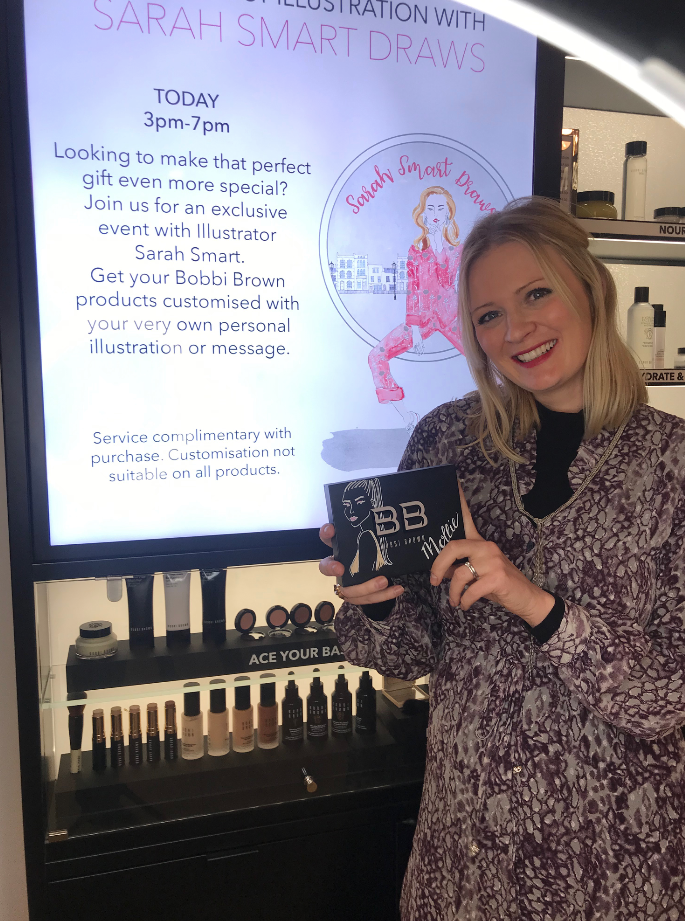 Bobbi Brown Beauty Illustrator