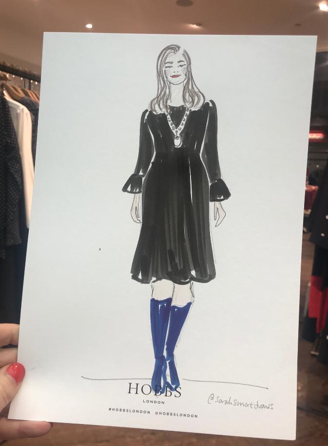 Hobbs VIP Fashion Illustrator