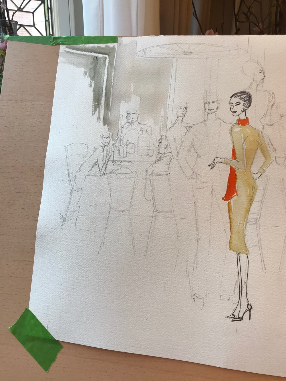 Live Fashion Illustration, Daphne Selfe