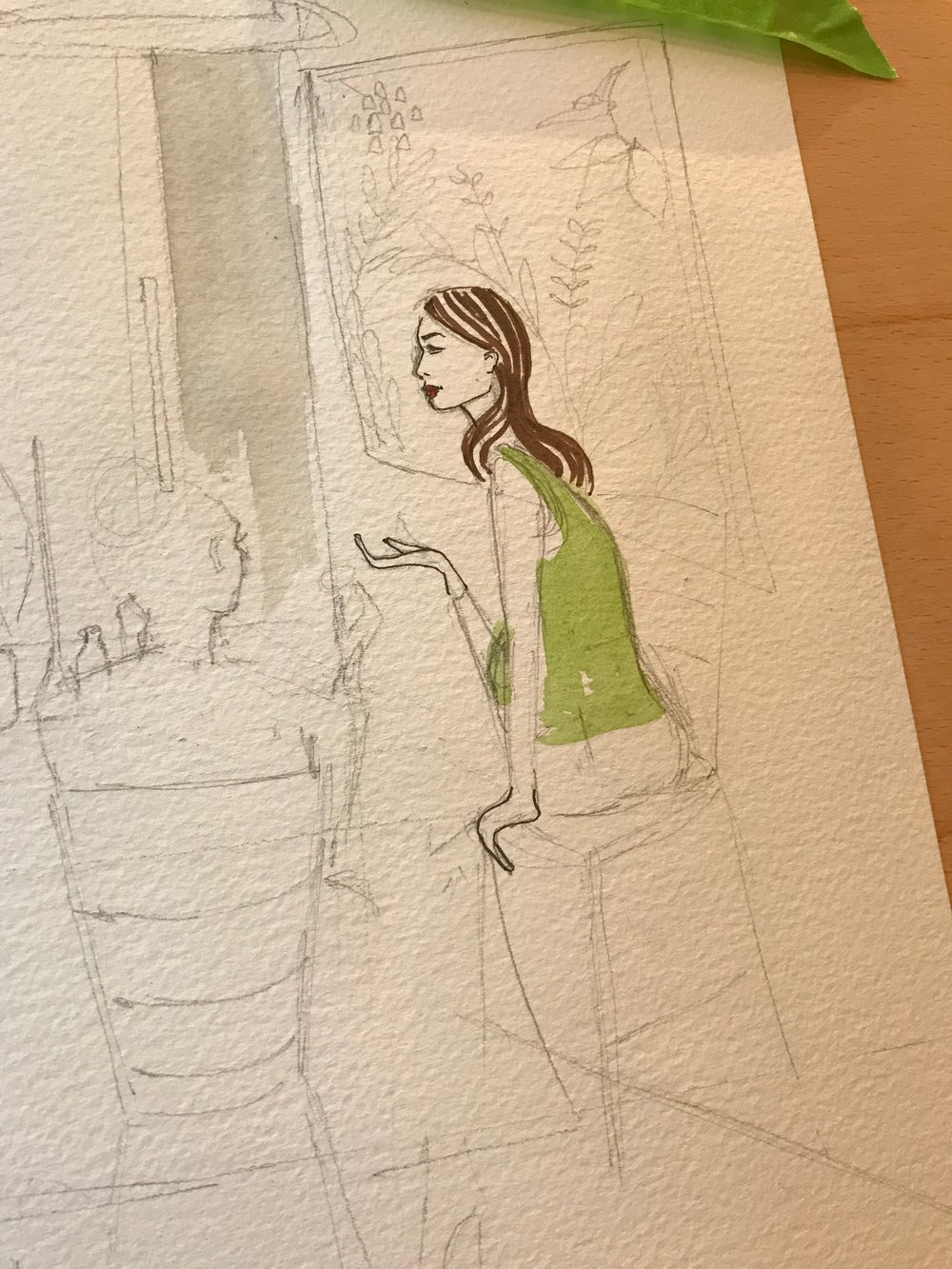 Live Fashion Illustration, Laura Jackson