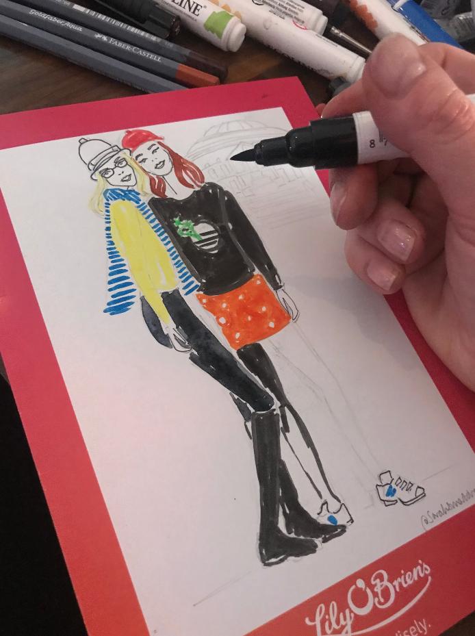 Alice Lavine Illustration