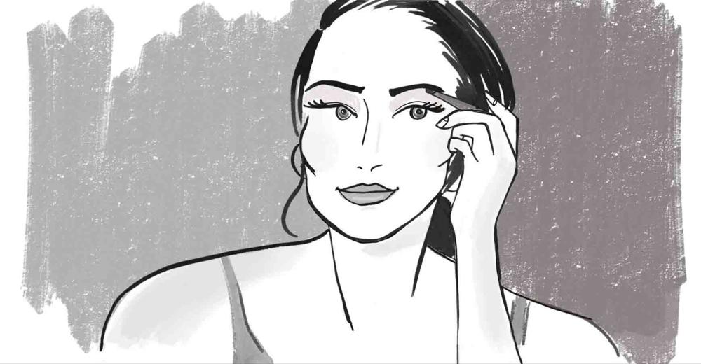ELLE Uk Beauty Illustrations for Braun