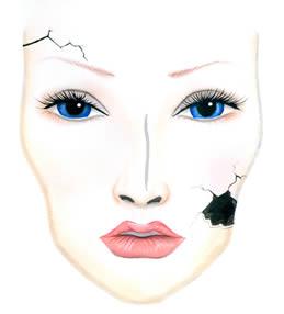 plano halloween makeup