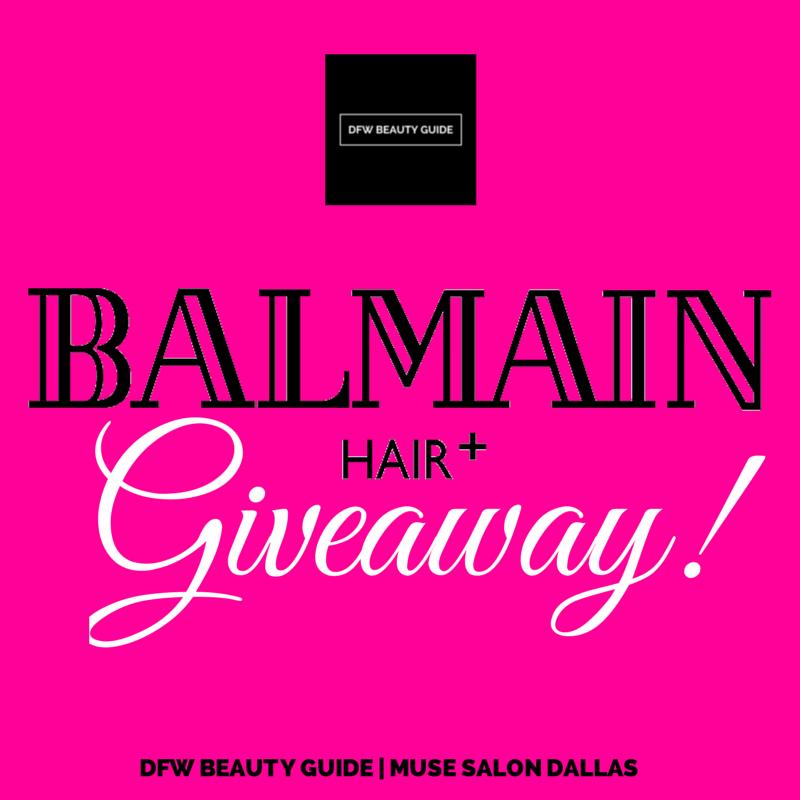 balmain hair giveaway