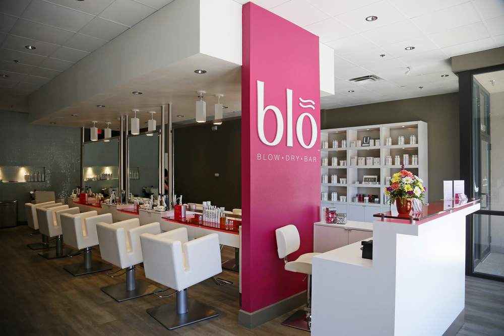 Blo blow dry bar located in the east village Wednesday, June 25, 2014.