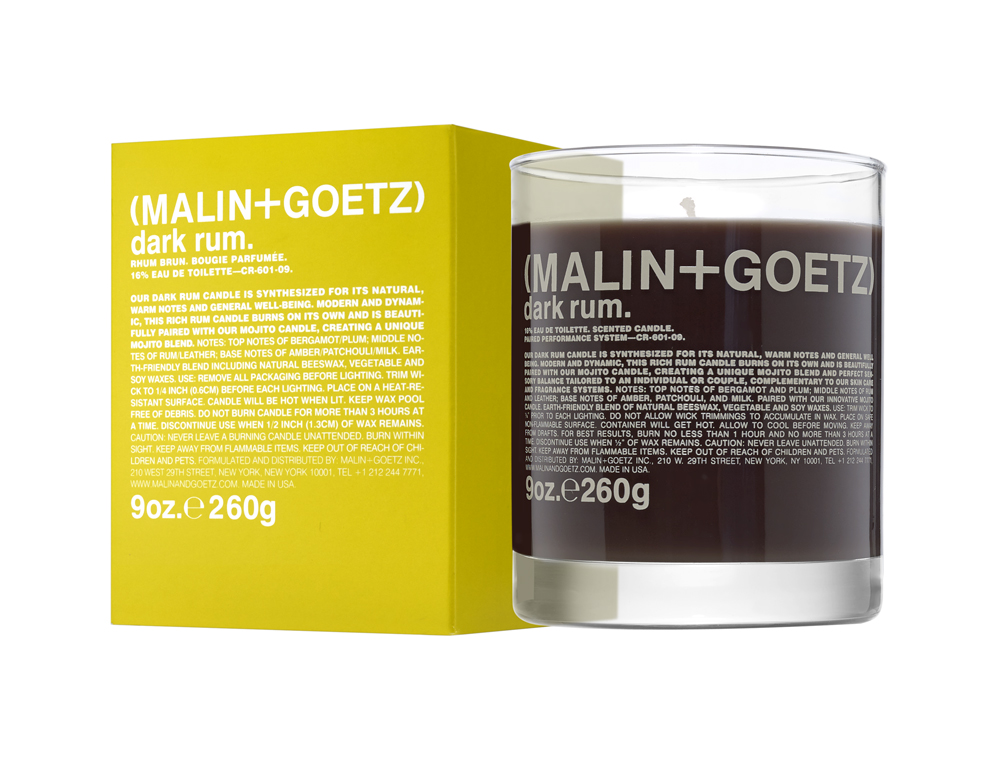 DARK RUM CANDLE DALLAS MALIN GOETZ