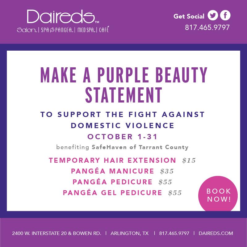 Purple Beauty Dallas - Domestic Violence