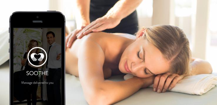 Soothe App - Dallas In-Home massage APP -