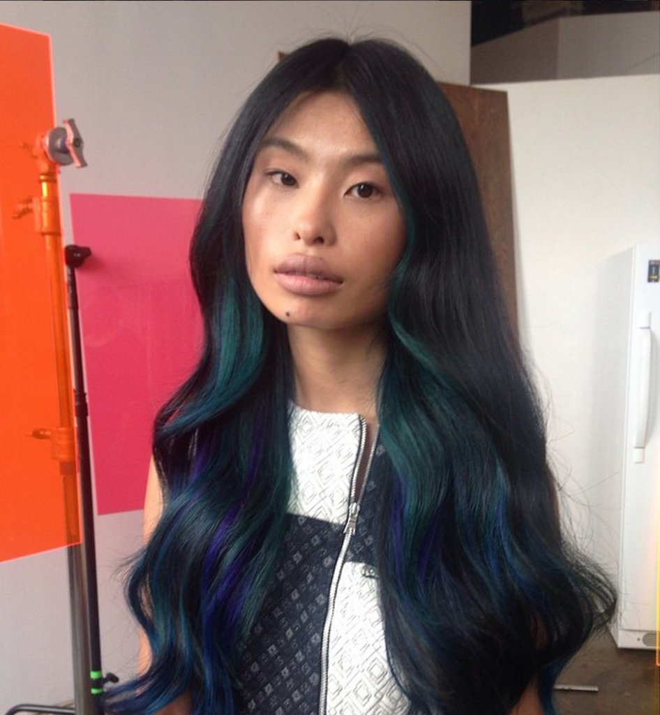 DFW Beauty Guide: Oil Slick Hair