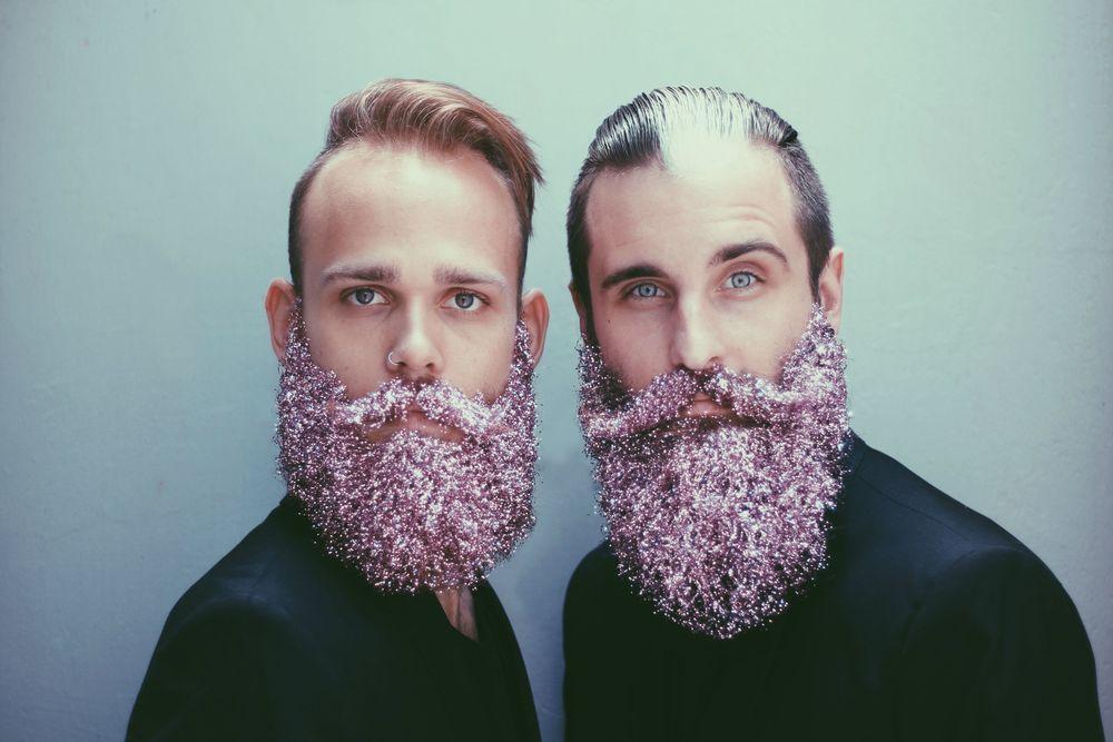 DFW Dallas Glitter Beards