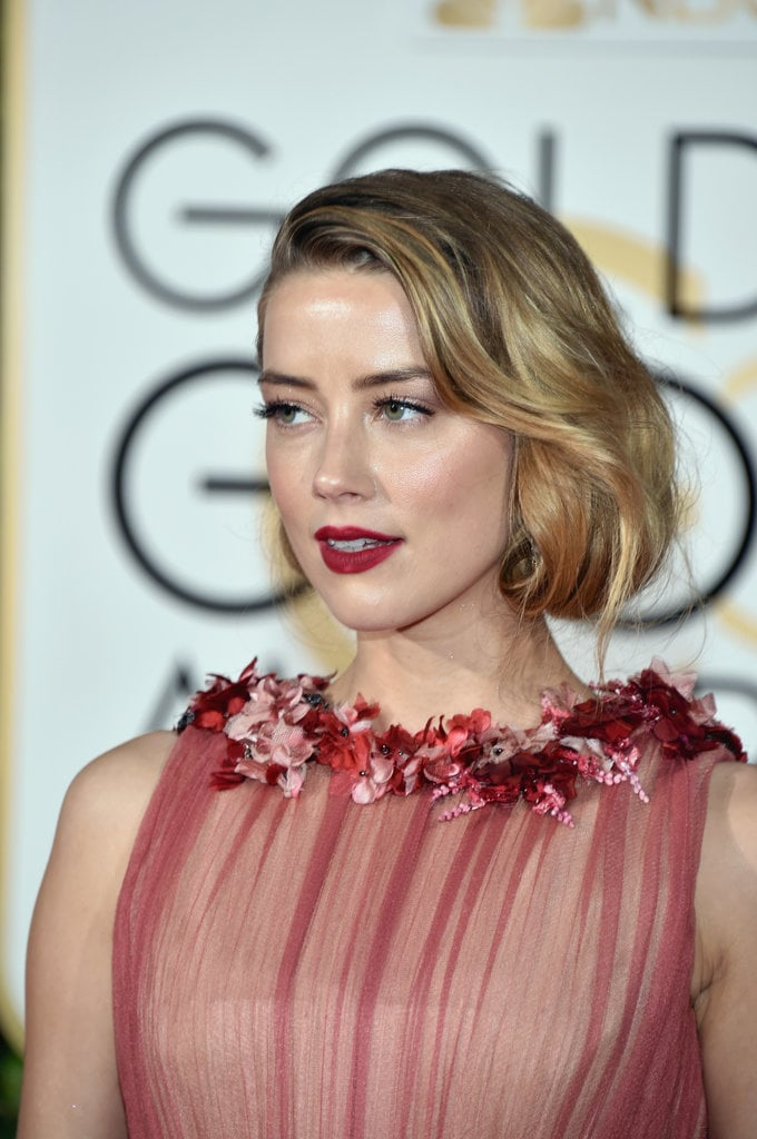 DFW Beauty Guide: Golden Globes - Amber Heard