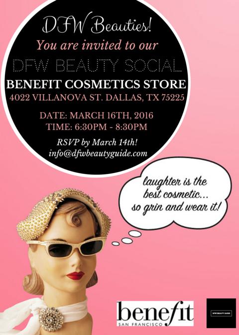 DFW Beauty Social: Beauty Happy Hour