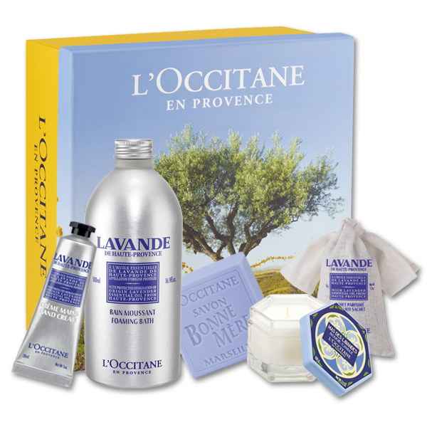 DFW Beauty Guide: Lavender Relaxing Gift Set L'Occitane