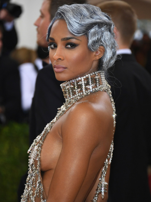 Met Gala Beauty - Ciara