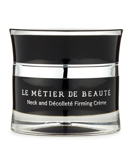 DFW Beauty Guide - Le Métier de Beauté Resurgence Neck and Décolleté Night Firming Crème