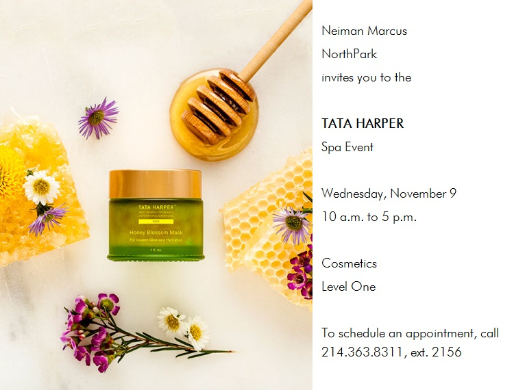 DFW Beauty Guide - Tata Harper